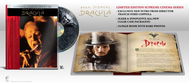 Bram Stoker's Dracula Supreme Cinema Series Blu-ray